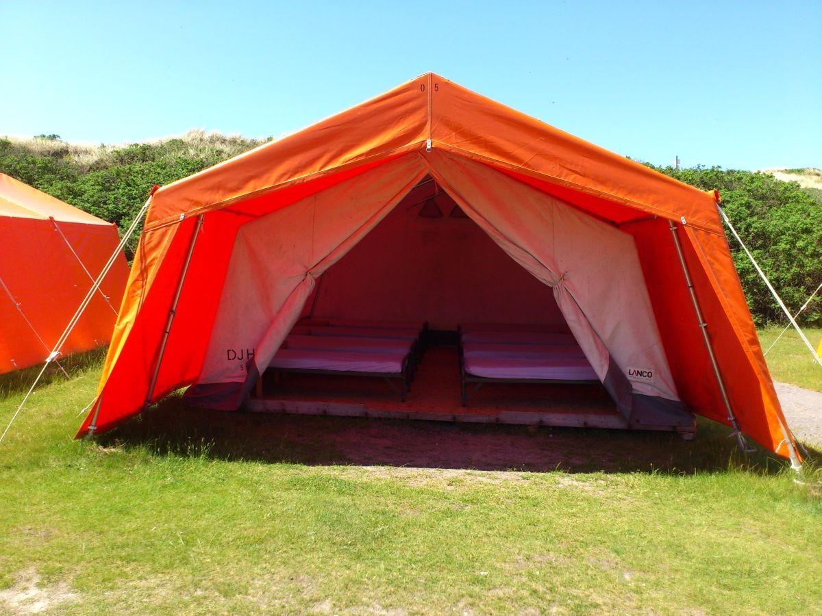Zelt Auf Westerland : Zeltlager des tv hahnstätten auf sylt